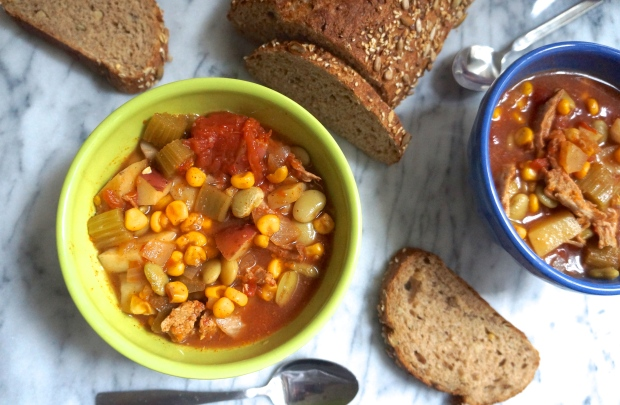 Healthy Slow Cooker Brunswick Stew