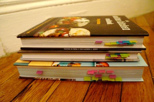 Mallory's cookbooks