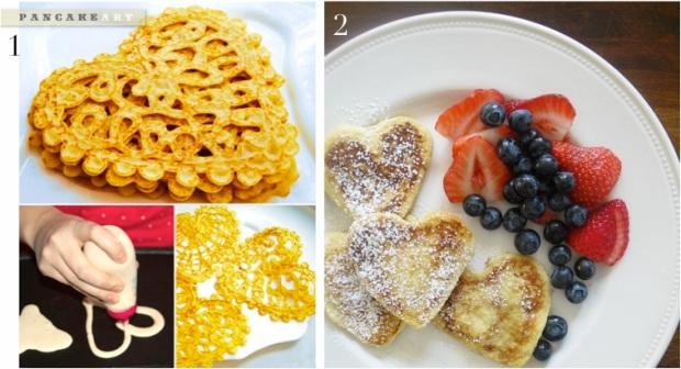 Healthy Valentines Breakfast