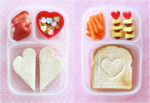 Healthy Valentines Lunches