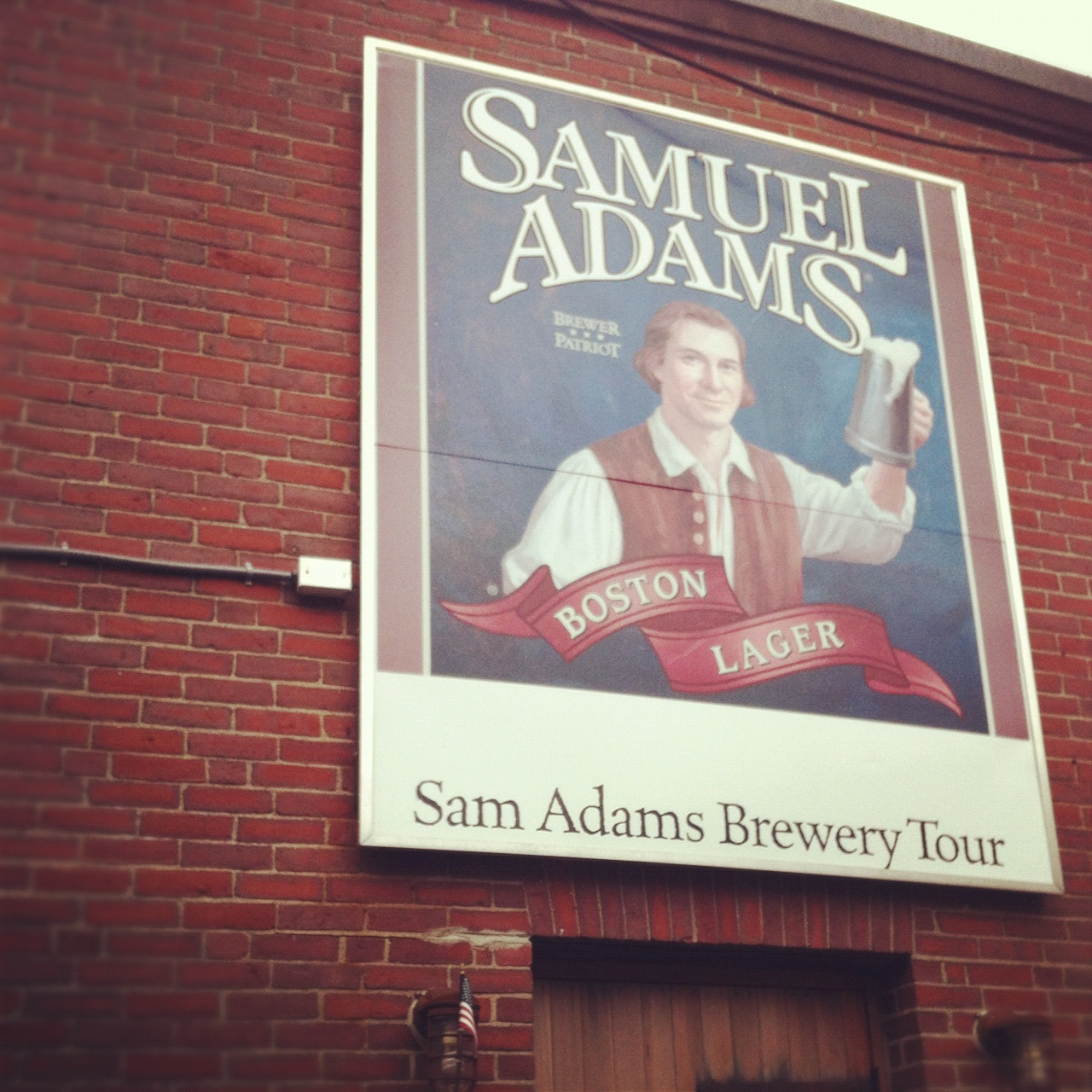 Sam Adams Factory Tour Boston