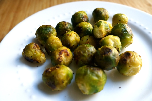 Healthy Late Night Snacks: Popcorn Brussels Sprouts