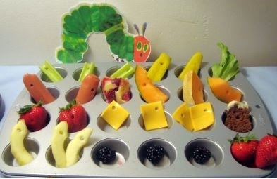 Very Hungry Caterpillar Party Food