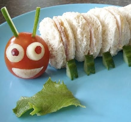 Hungry caterpillar sandwich