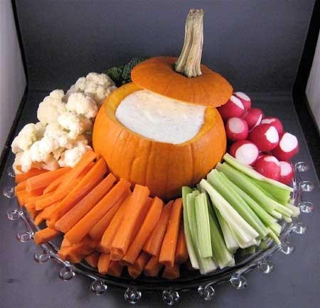 13 adorable veggie platter presentation image via pinterest original source unknown