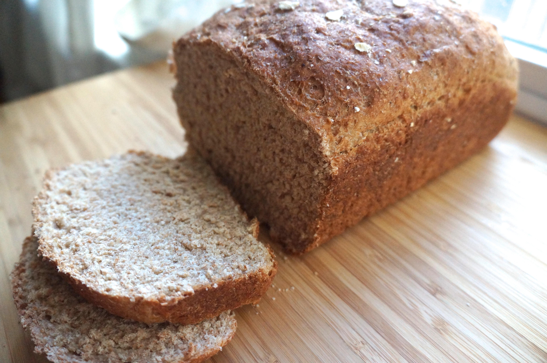 100% Whole Grain Bread