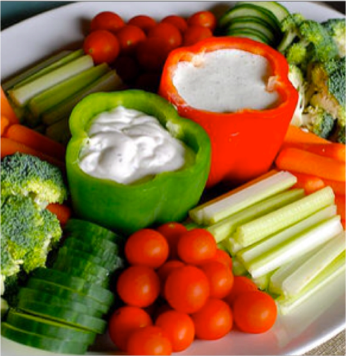 Not Your Average Vegetable Platter