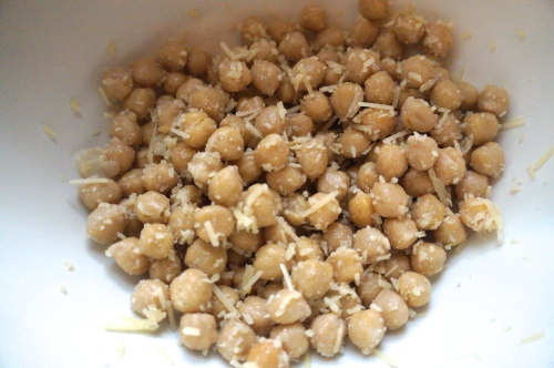 Cheesy Chickpeas