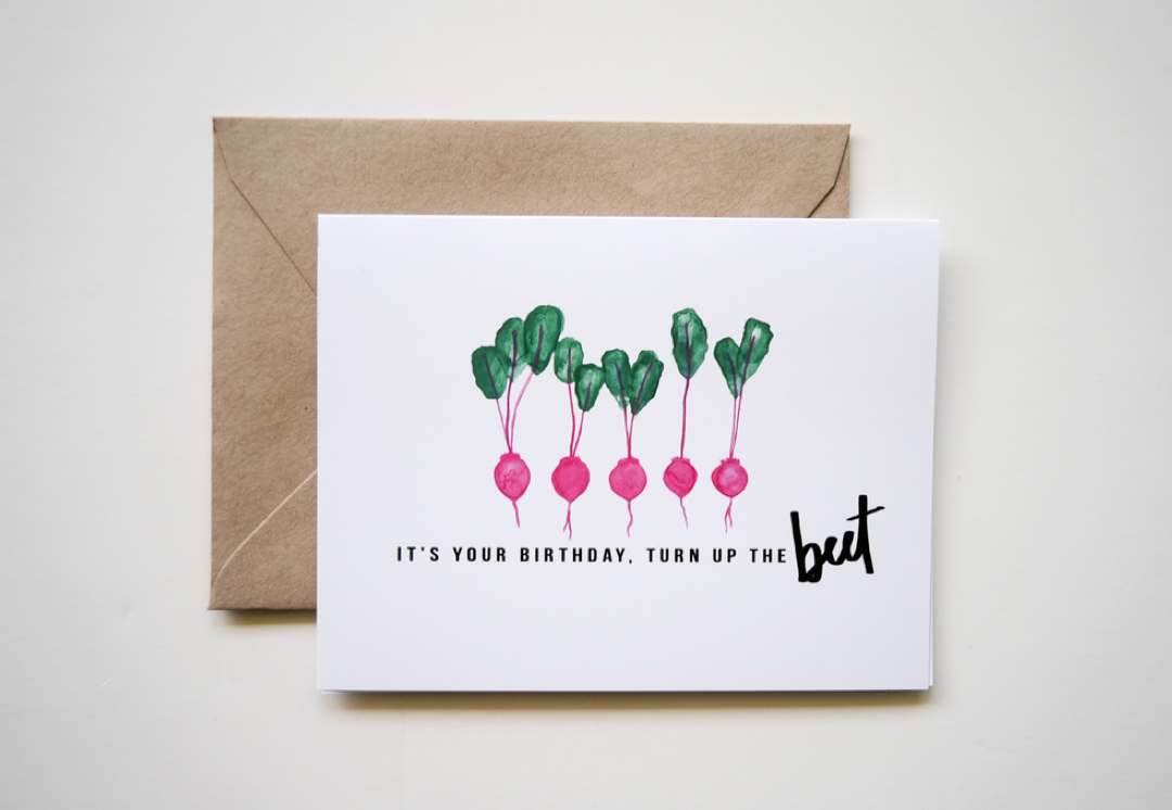 Birthday Card Food Puns ~ Eat healthy designs u2013 kelly toups mla rd ldn