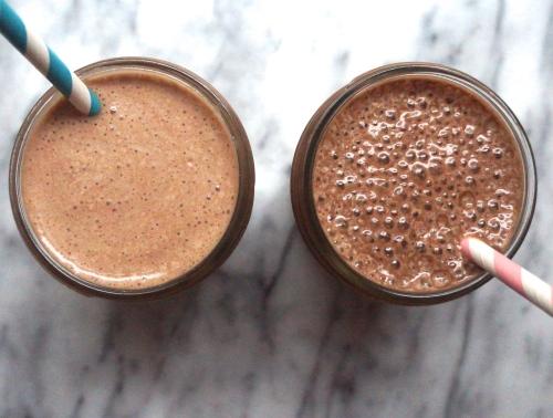 Healthy Chocolate Milkshakes -  No sugar