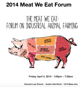 The Meat We Eat: Forum on Industrial Animal Farming