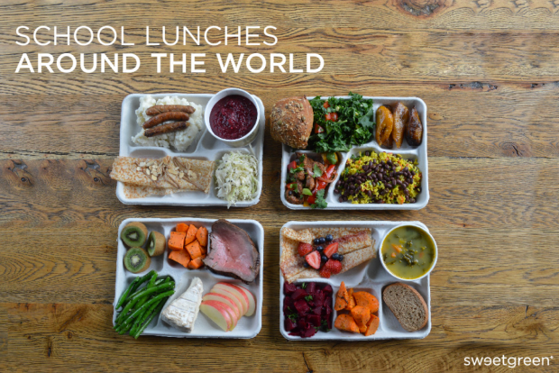 School Lunches Around the World - Sweetgreen
