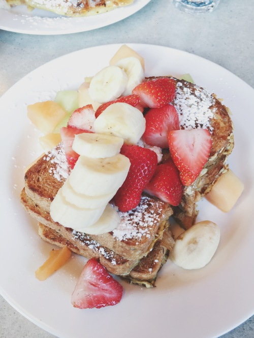 Whole Wheat French Toast from The Paramount