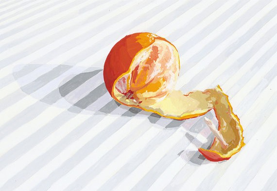 Peeled Orange - Elizabeth Mayville