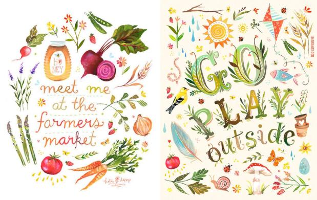 The Wheatfield - by Katie Daisy