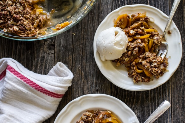 Butternut Squash Apple Pear Crisp