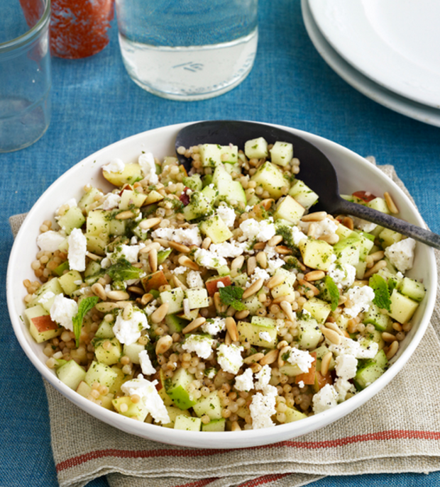 Israeli Couscous and Apple Salad