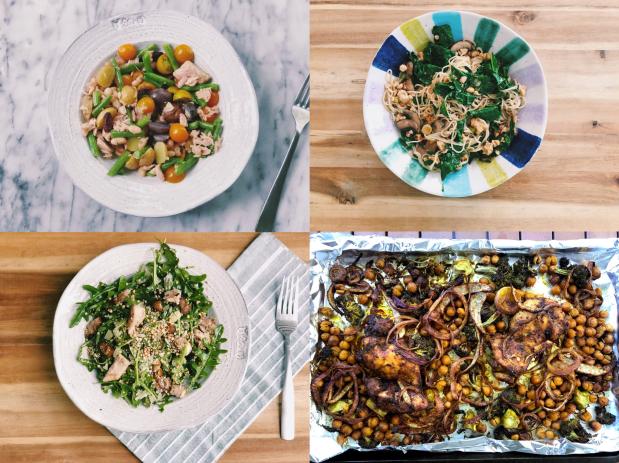 4 healthy recipes
